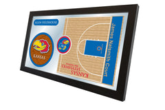 University of Kansas Basketball Mirror - Jayhawks Logo