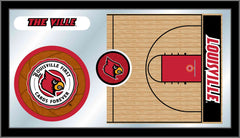 University of Louisville Basketball Mirror - Cardinals Logo