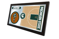 Michigan State University Basketball Mirror - Spartans Logo