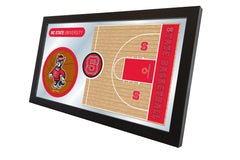 North Carolina State University Basketball Mirror - Wolfpack Logo