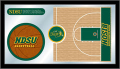 North Dakota State University Basketball Mirror - Bison Logo