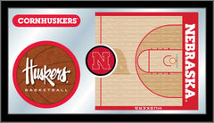University of Nebraska-Lincoln Basketball Mirror - Cornhuskers Logo
