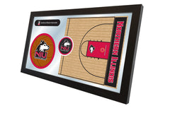 Northern Illinois University Basketball Mirror - Huskies Logo