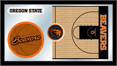 Oregon State University Basketball Mirror - Beavers Logo
