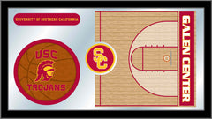 University of Southern California Basketball Mirror - Trojans Logo