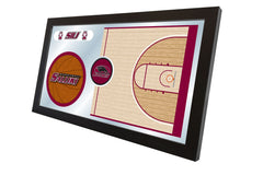 Southern Illinois University Carbondale Basketball Mirror - Salukis Logo