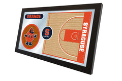 Syracuse University Basketball Mirror - Orange Logo