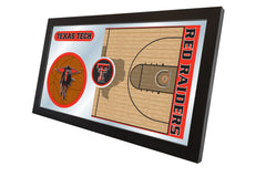 Texas Tech University Basketball Mirror - Red Raiders Logo