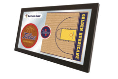University of Tulsa Basketball Mirror - Golden Hurricane Logo