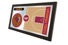 Virginia Tech Basketball Mirror - Hokies Logo