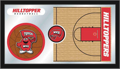 Western Kentucky University Basketball Mirror - Hilltoppers Logo