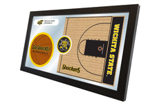 Wichita State University Basketball Mirror - Shockers Logo