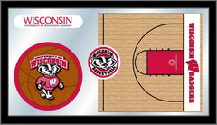 University of Wisconsin-Madison Basketball Mirror - Badgers Logo