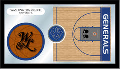 Washington & Lee University Basketball Mirror - Generals Logo