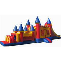 Bouncer Slide Obstacle Combo