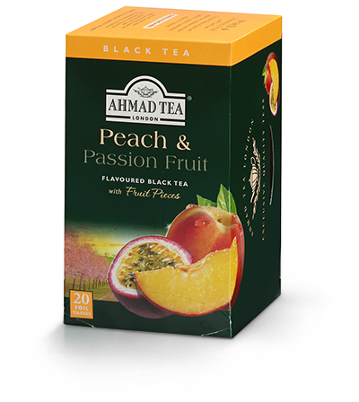 Peach & Passion Fruit Tea, Ahmad Tea - Specialty Goodies
