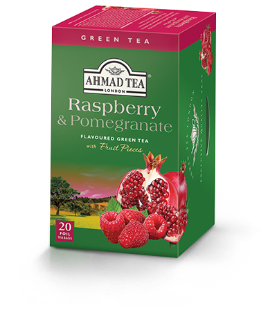 Raspberry & Pomegranate, Ahmad Tea - Specialty Goodies