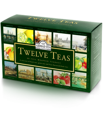 Tweleve Teas - Gift Pack, Ahmad Tea - Specialty Goodies