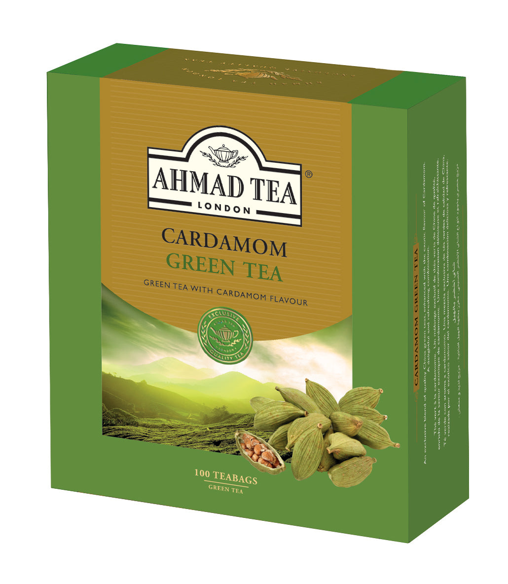 Cardamom Green Teabags (100 sachets) - Specialty Goodies