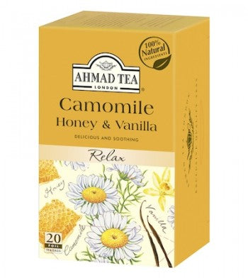 Chamomile,Honey,Vanilla, Ahmad Tea - Specialty Goodies