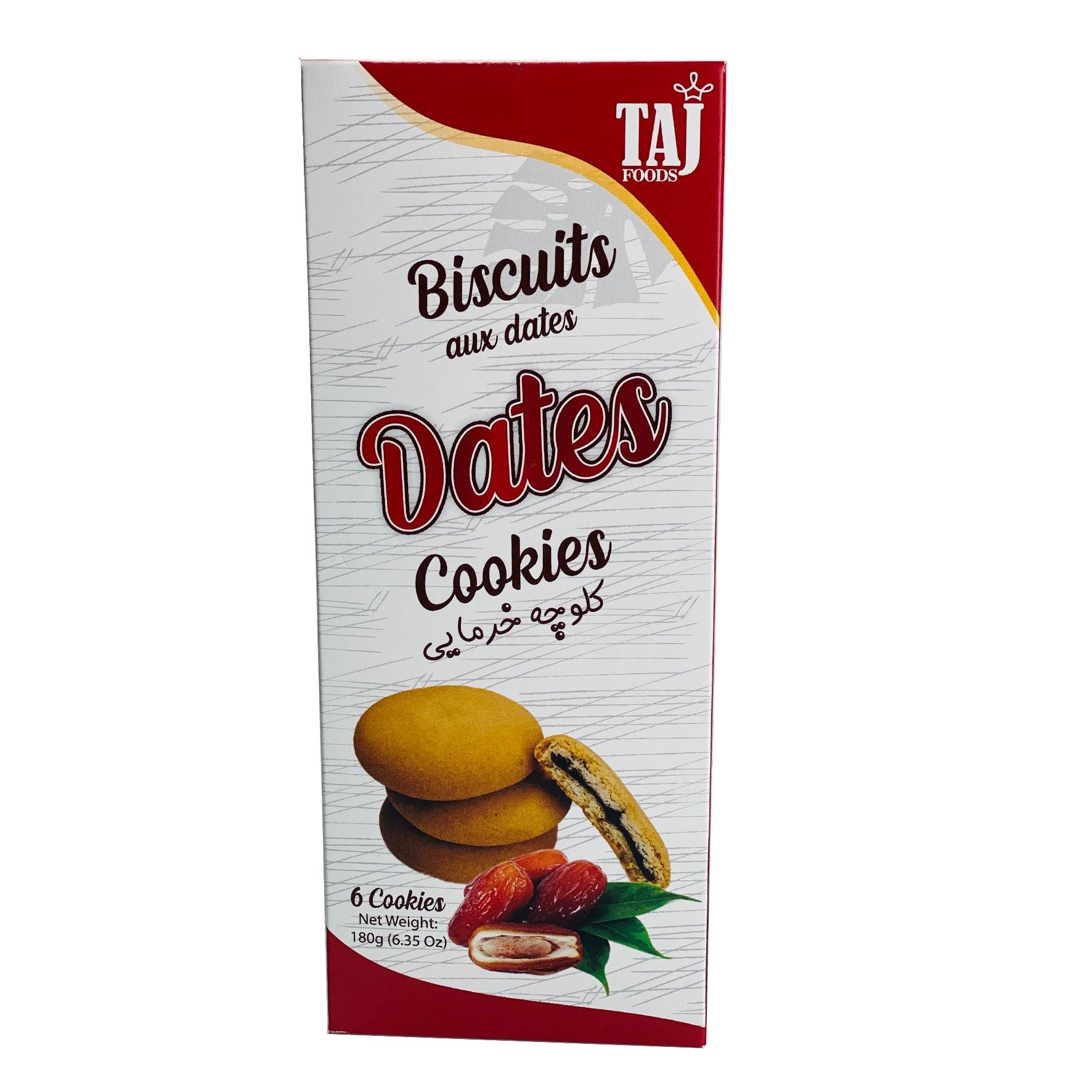 Date Cookies, TAJ Foods - Specialty Goodies