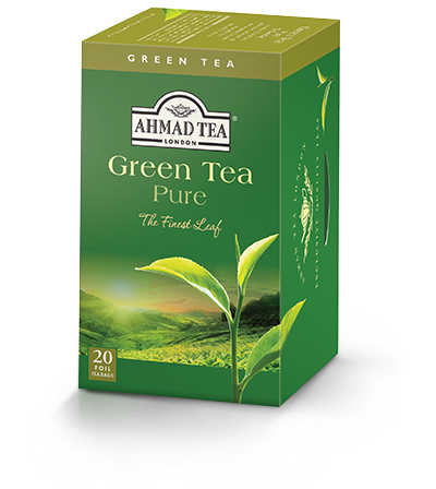 Green Tea Pure, Ahmad Tea - Specialty Goodies