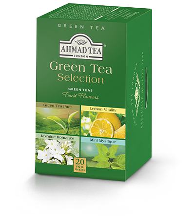Assorted Green Teas, Ahmad Tea - Specialty Goodies