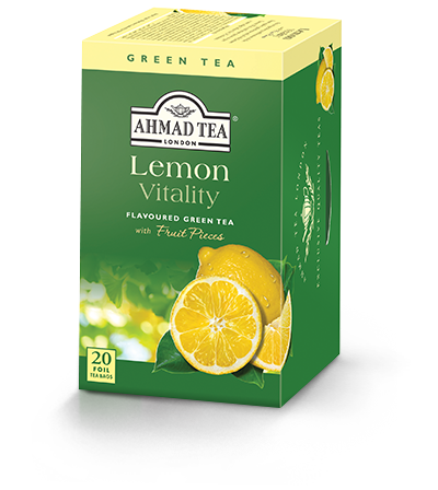 Lemon Vitality, Ahmad Tea - Specialty Goodies