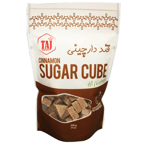 Sugar Cube with Cinnamon, TAJ Foods - Specialty Goodies