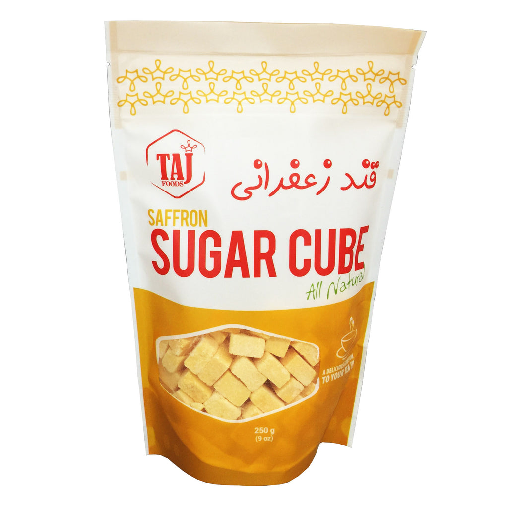 Sugar Cube with Saffron, TAJ Foods - Specialty Goodies