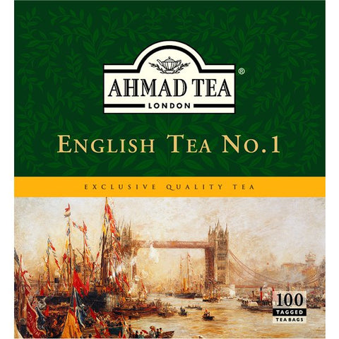 English No. 1 Teabags (100 sachets), Ahmad Tea - Specialty Goodies