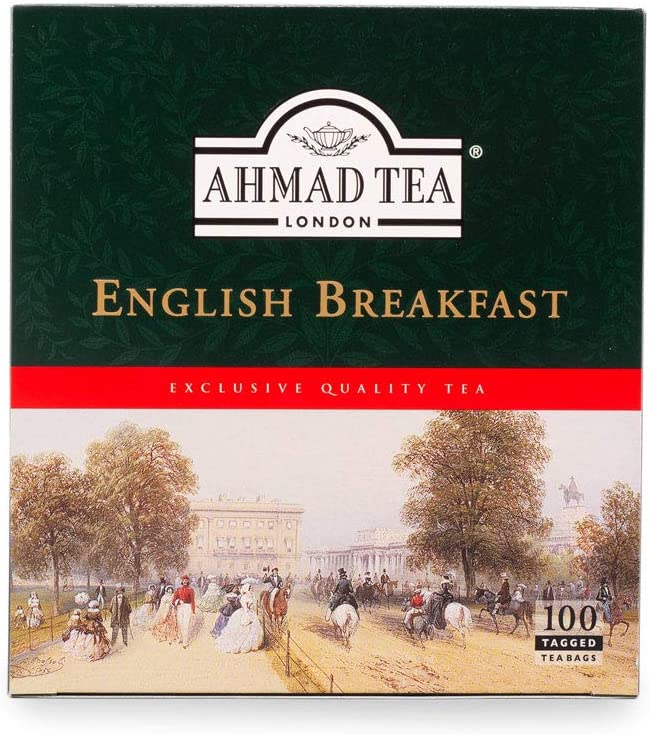 English Breakfast Teabags (100 sachets), Ahmad Tea - Specialty Goodies
