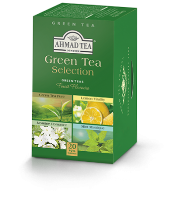 Green Tea Selection, Ahmad Tea - Specialty Goodies