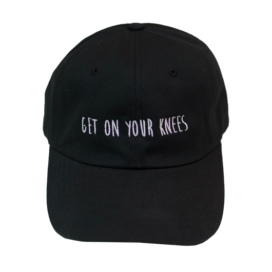 Get On Your Knees Hat (multiple colors available)
