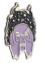 Spacehead Enamel Pin