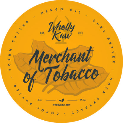 Merchant of Tobacco Soap - Vegan