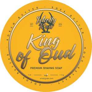 King of Oud Shaving Soap - Vegan