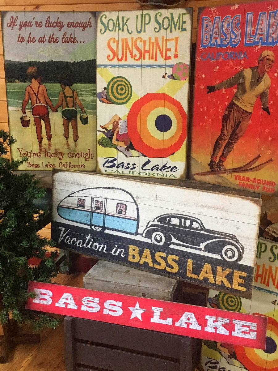 RETRO WOOD SIGNS