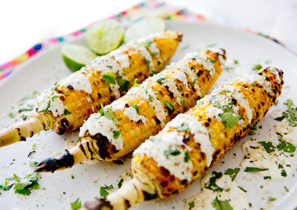 Corn on the Cob with Mexican Grilled Corn Recipe