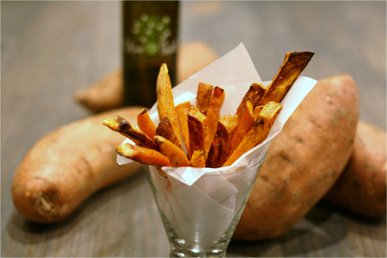 Sweet Potatoes with Sweet Potato Fries Recipe