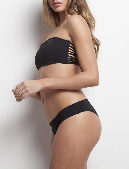 Black Strapless & Basic Panty