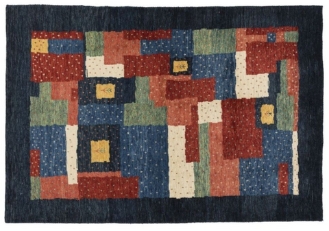 red, blue, yellow, and green colorful rug