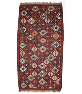Antique Armenian Karabakh Kilim is a hand knotted rug