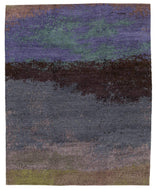 Watercolor Twilight, a hand knotted rug designed by Tufenkian Artisan Carpets