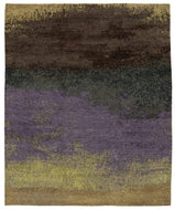 Watercolor Iris, a hand knotted rug designed by Tufenkian Artisan Carpets