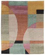 Delmonico Orange, a hand knotted rug by Tufenkian Artisan Carpets
