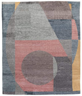 Geometry Currant, a hand knotted rug by Tufenkian Artisan Carpets