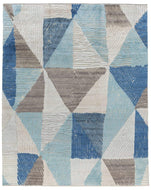 Minos Blue, a hand knotted rug designed by Tufenkian Artisan Carpets.