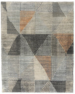 Minos Eggshell, a hand knotted rug designed by Tufenkian Artisan Carpets.