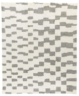 Step Natural Grey, a hand knotted rug designed by Tufenkian Artisan Carpets.